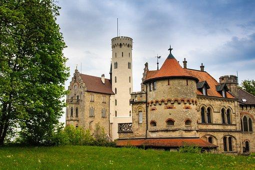 Burg Lichtenstein, Castle, Romantic, Tower