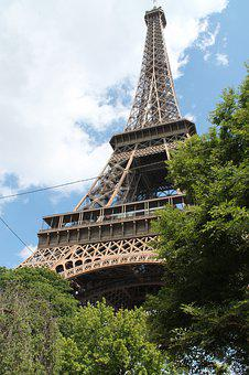 Paris, France, Eiffel Tower, City, Landmark