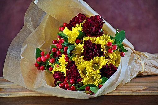 Flowers, Bouquet, Flora, Romantic, Romance, Colorful