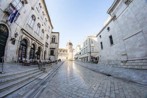 Dubrovnik, Old Town, Croatia, Dalmatia, Mediterranean