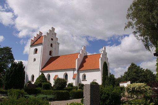 Church, Religion, Danish, Denmark, Architecture