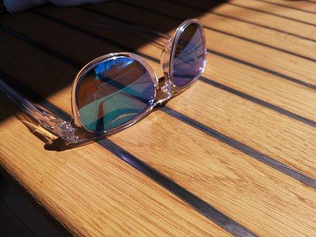 Teak, Glasses, Marine, Boat, Deck, Hot, Sunglasses, Sun