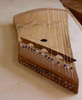 Zither, Harp, Zither Harp, Cedar, Instrument-making