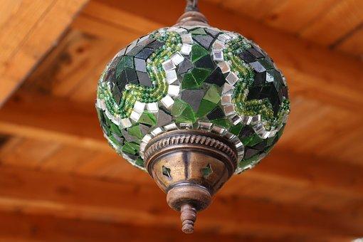 Lamp, Pattern, Background, Light, Entrance, Fear, Story