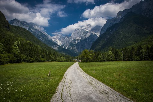 Alps, Scenery, Mountain, Slovenia, Mountains, Landscape