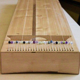 Body Monochord, Monochord, Haselholz, Wood, Instrument