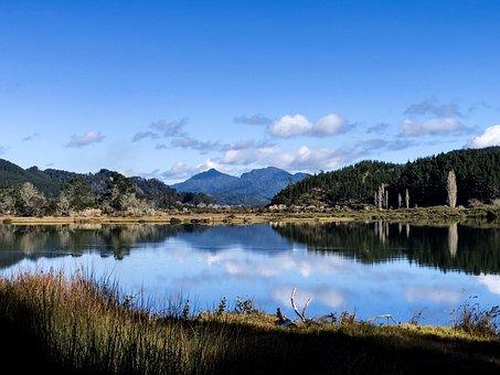 New Zealand, Pauanui, Tairua, Summer, Scenery
