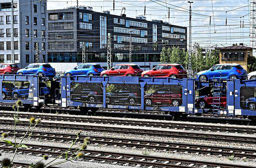 Autotransport, Train, Rail, Railway, Transport System