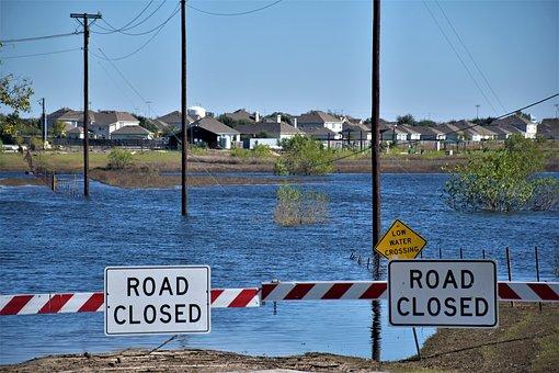 Flood, Disaster, River, Storm, Nature, Rain