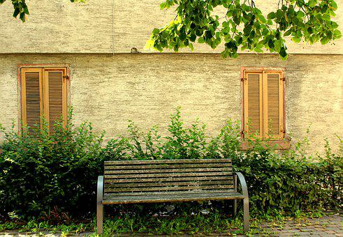 Bench, Rest, Summer, Relaxation, Old, Wooden, Sit