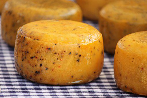 Cheese Loaf, Cheese, Round, Yellow, Butter Cheese