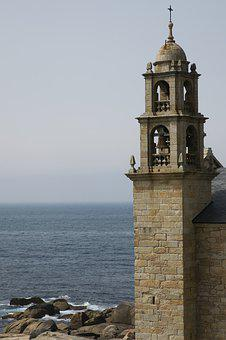 Tower, Sea, Sky, Church, Virgin Of The Boat, Sanctuary