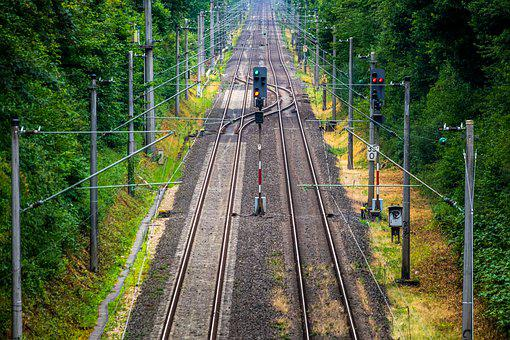 Rails, Signal, Characters, Gleise, Away, Vacations