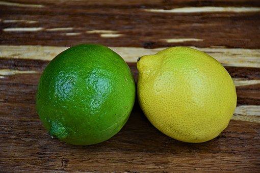 Fruit, Lemon, Lime, Fresh, Citrus, Sour, Lemonade, Food