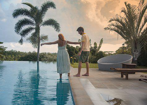 Infinity Pool, Couple Goals, Travel Goals, Sunset