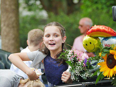 Girl, Schützenfest, Young, Pageant, Tradition