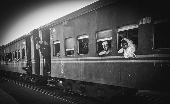 Train, People, Railway, Travel, Station, Transport