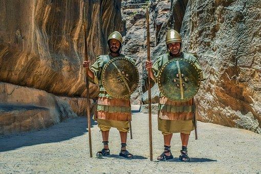 Guards Of The Canyon, Warriors, Al Siq Canyon, Armory