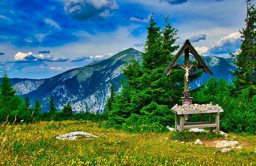 Landscape, Rax, Nature, Alpine