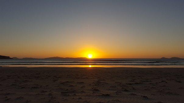 Sunset, Beach, Australia, Evening, Wilsons Promontory