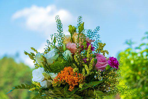 Bouquet, Bloom, Colorful, Flowers, Nature