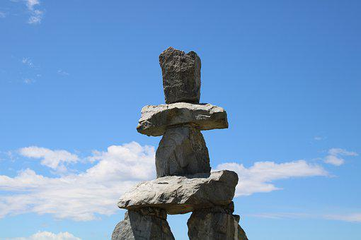 Vancouver, Canada, Stones, Cairn, Directory, Olympia