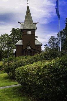 Church, Religion, Faith, Christian, Landscape, Sky