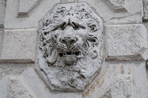 Facade, Detail, Castle, Baroque, Historically