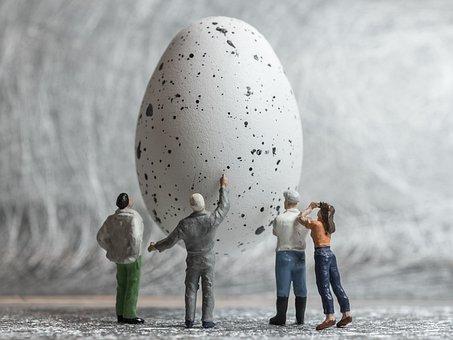 Egg, Speckled, Easter, Nature, Food, Hatching, Figures
