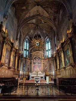 Basilique Saint-pierre D'avignon, Avignon, France