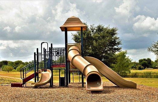 Slide, Fun, Kids, Childhood, Happy, Happiness, Young