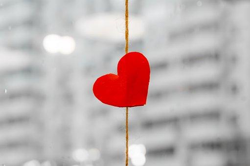 Heart, Red, Valentine, Symbol, Decoration, Heart Shape