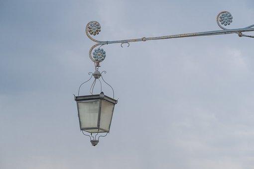 Lantern, Lamp, Lighting, Castle, Baroque, Historically