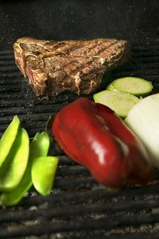 The Stake, Meat, Barbecue, Steak, Grilled, Nutrition