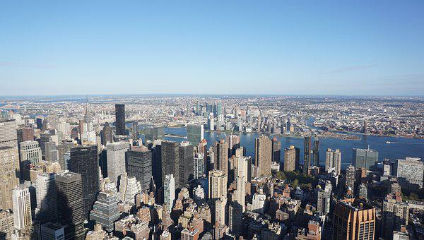 Nyc, Newyork, Manhattan, Usa, Skyline, City