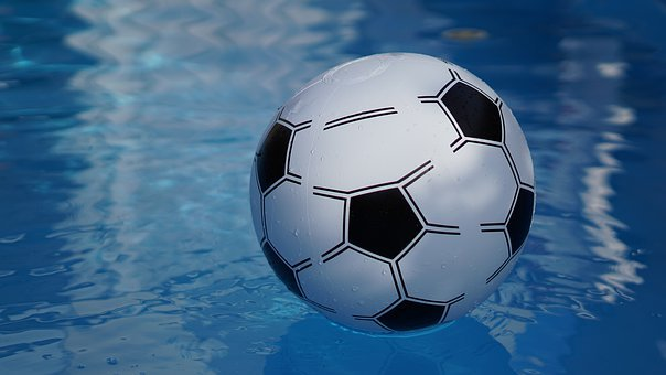 Background, Pattern, Pool, Water Polo, Inflatable