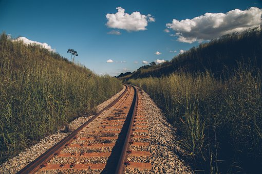 Railway Line, Train, Rails, Railway, Track, Travel
