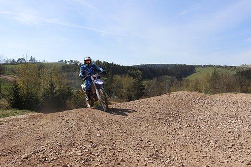 Motocross, 450ccm, Climbing, Dirtbike, Training, Speed