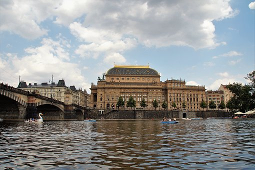 National, Theater, Prague, History, Building