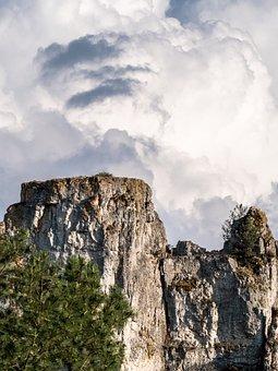 Third Phase, Aliens, Mountain, Landscape, Universe