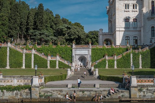 Castle, Italy, Trieste, Architecture, Tourism, Travel