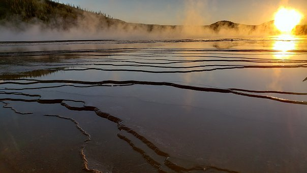 Grand Prismatic Spring, Yellowstone, Usa, Wyoming