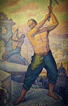 Laborer, Masterpiece, Picture, Art, Thecr Etive