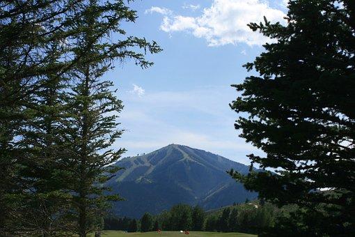 Baldy, Sun Valley, Ski