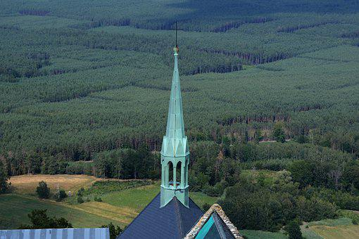 Tower, Bezděz, Castle, Hill, Heaven, Landscape