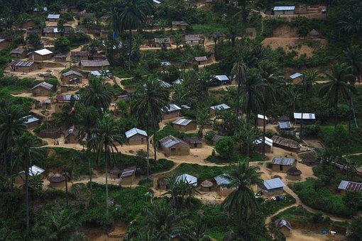 Bulambika, Bunyakiri, African Village, Third World, Rdc