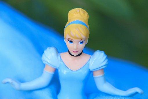 Princess, Character, Disney, Fairy, Dress, Blue