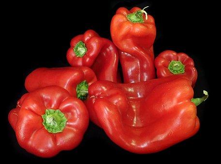 Capsicum, Peppers, Vegetables, Food, Cooking, Healthy