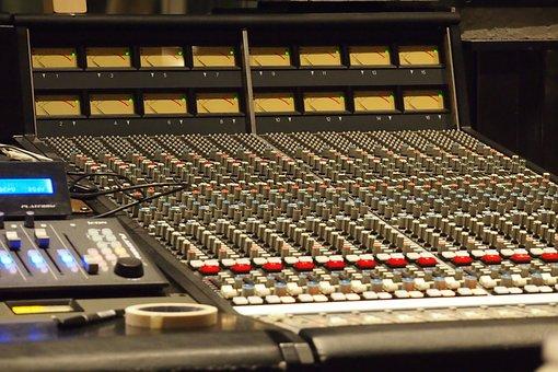 Music, Studio, Equipment, Music Studio, Mixer