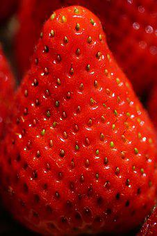 Strawberry, Sweet, Red, Delicious, Ripe, Fruity, Fruit